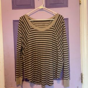 Free People Striped Sweater Size S